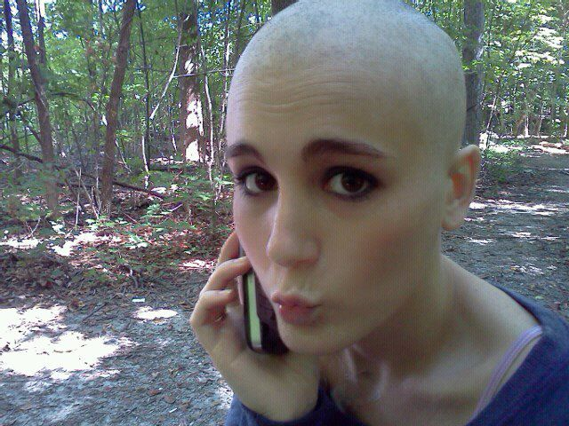 Consider, Loving leah shaved head congratulate, magnificent